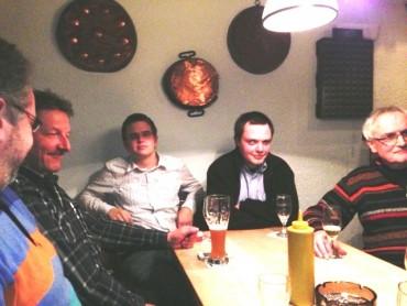 Eine runde Sache – Der 1.SPD Stammtisch im Littfass