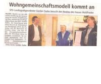 SPD besucht Einrichtung für Demenzerkrankte in Halver – Leben in kleinen Wohngemeinschaften