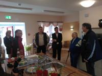 Gordon Dudas zu Besuch im Haus Waldfrieden