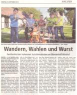 Familienfest am Winkhof mit vielen Aktiven und Besuch aus Düsseldorf