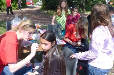 Strahlende Kinderaugen beim Kartcup 2013