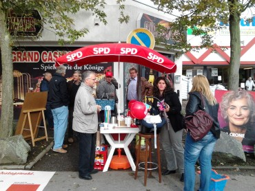 Endspurt am Kaufpark – Bundestagswahl 2013