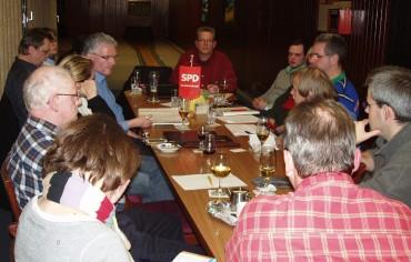 Wahlkampfteam trifft sich – viel Freude, aber auch viel Arbeit wartet