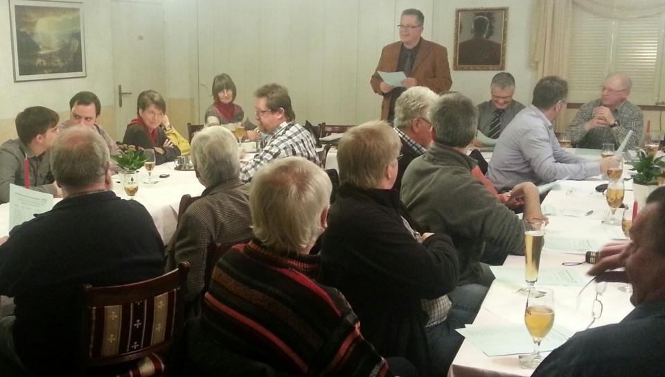 Die Wahlkreiskandidaten, die Reserveliste und der Kreistagskandidat sind gewählt – Die Mannschaft für den 25. Mai steht