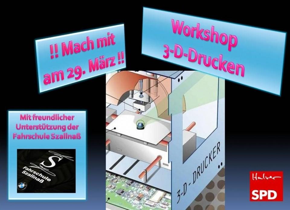 """Workshop """"3D Drucken"""" lädt zum Mitmachen ein"""