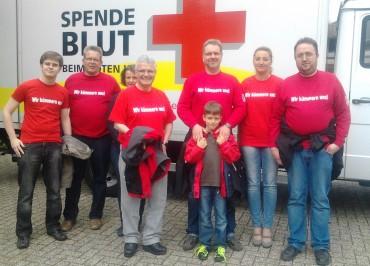 """Die """"Roten"""" geben """"Rotes"""" – Blutspendenaktion des SPD Ortsverein"""