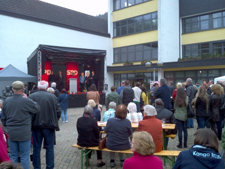 SPD Ortsverein besucht 100.Jahrfeier in Schalksmühle