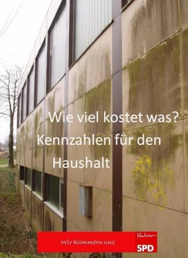 """""""Kennzahlen für den Haushalt"""" – Wir zur Kommunalwahl am 25. Mai"""