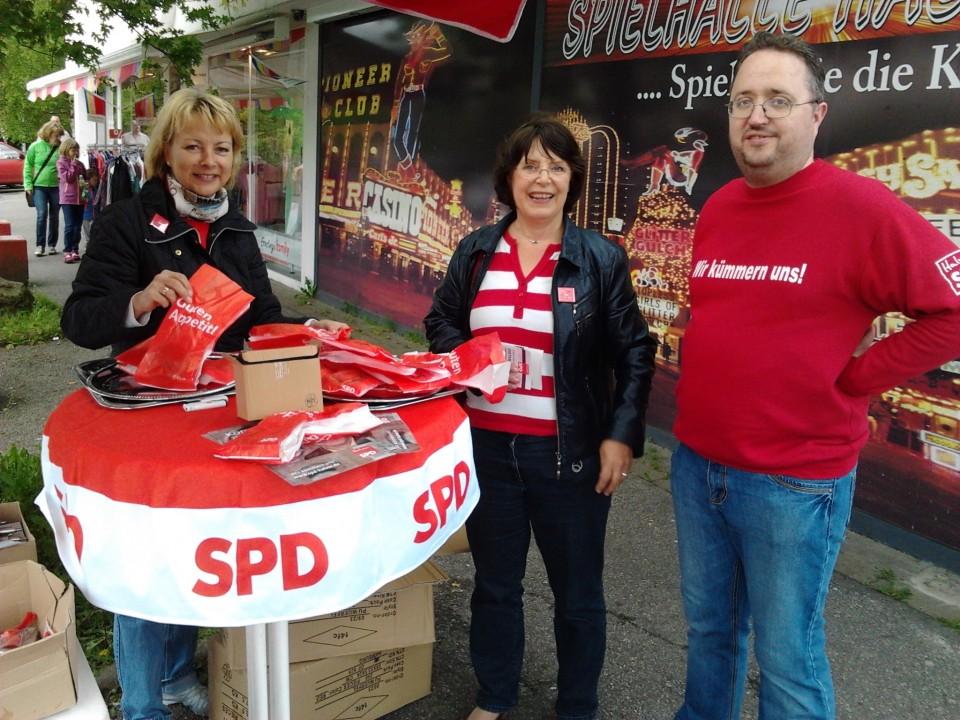 SPD-Donuts sollen erinnern – am Sonntag vom Wahlrecht Gebrauch machen
