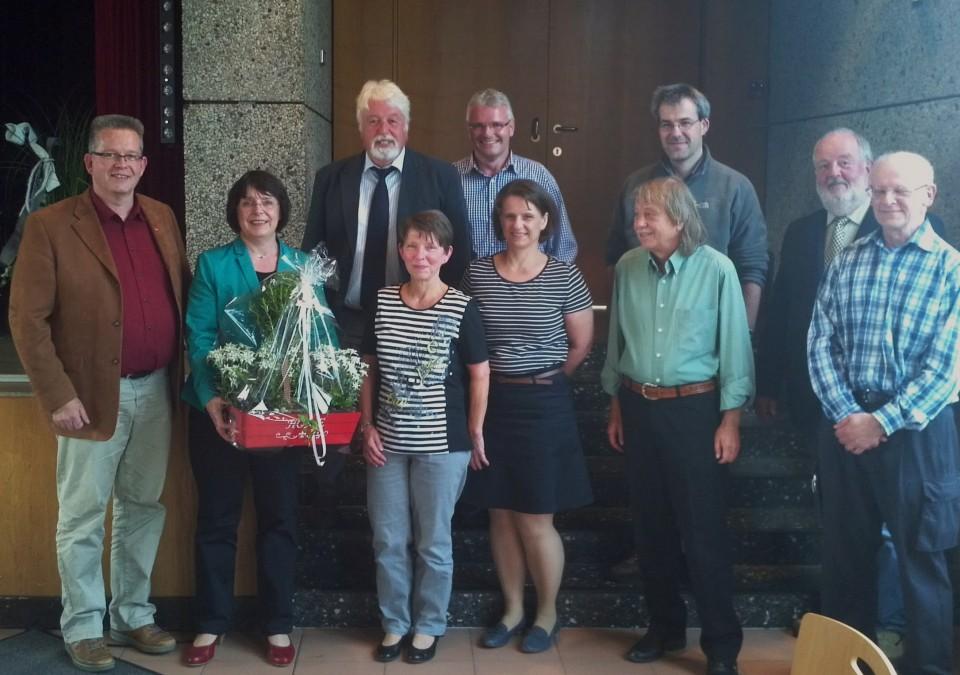 Die 1.stellvertretende Bürgermeisterin heißt weiterhin Regina Reininghaus