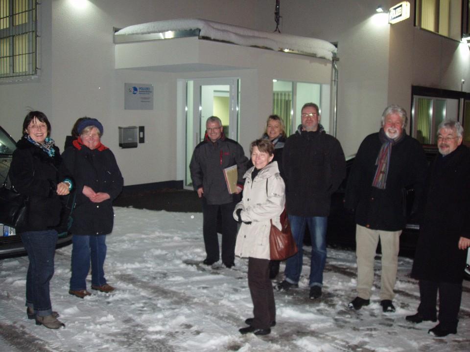 Fraktion gewinnt Einblick vor Ort – Führung durch die neue Polizeiwache in Halver