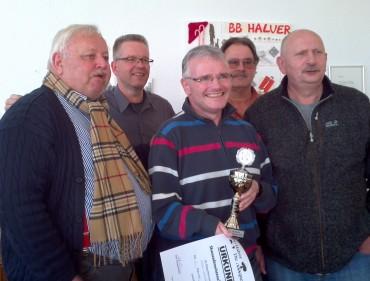 Halver hat einen neuen Skatstadtmeister – Michael Brosch gewinnt mit unglaublichen 3124 Punkten