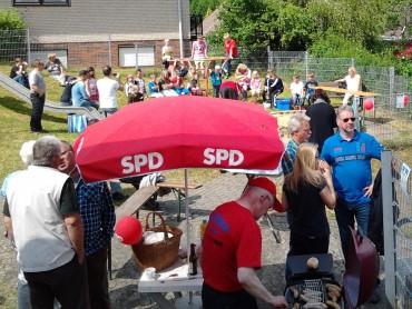 Spielplatzfest der SPD Halver dieses Jahr in Oberbrügge