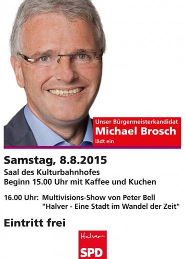 Eine Stadt im Wandel der Zeit – Wahlkampfauftakt mit Michael Brosch