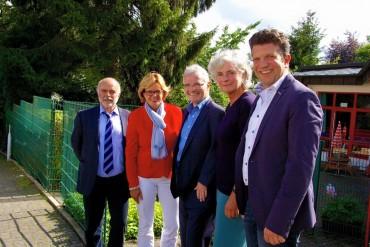 """Ministerin Ute Schäfer besucht """"Juno"""" DRK-Familienzentrum in Halver"""