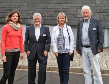 Bürgermeisterkandidat Michael Brosch im Märkischen Werk