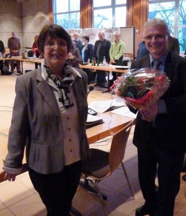 Regina Reininghaus führt Michael Brosch ins Amt ein