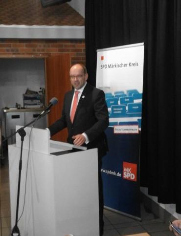 SPD Unterbezirksparteitag mit Ministerbesuch – Gordan Dudas wird neuer Vorsitzender