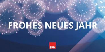 Alles Gute zum Jahreswechsel wünscht der SPD Vorstand