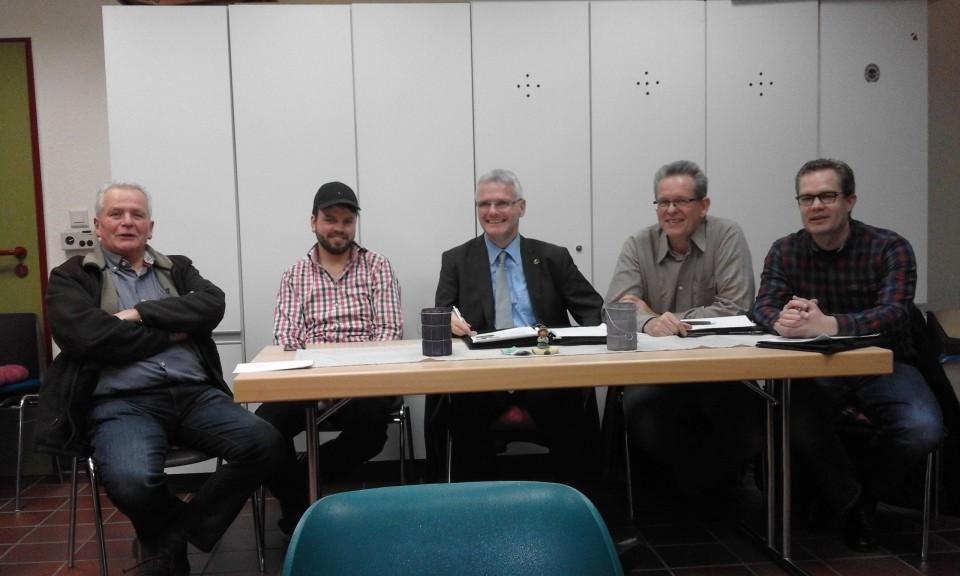 Bürgermeistersprechstunde mal ganz anders – Vertreter der Ratsfraktionen mit am Tisch