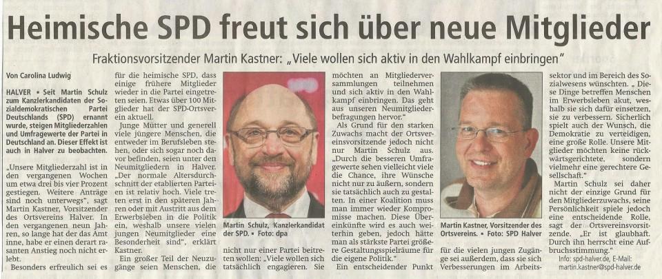 Mitgliederentwicklung der SPD in Halver – Demokratie braucht Beteiligung
