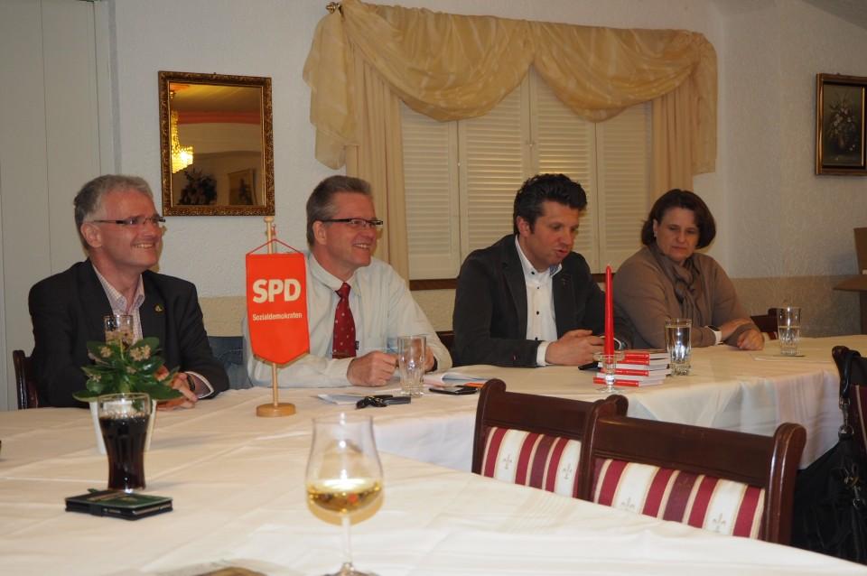 """Stammtisch zum SPD Programm – Motto """"Grill den Dudas"""""""