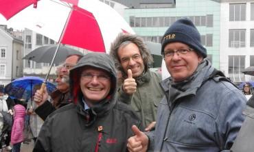 1.Mai Kundgebung in Lüdenscheid – SPD Halver ist vertreten