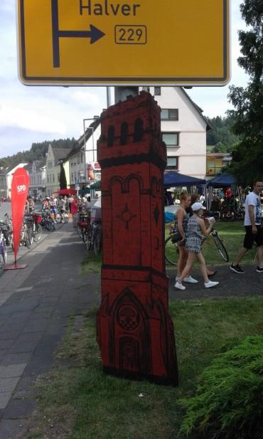 """""""Autofreies Volmetal 2017″ Bilderserie zur Spendenaktion """"Turmwurst"""""""