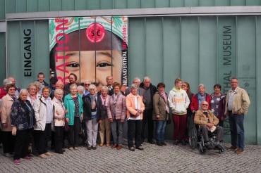 """SPD-Tagesfahrt führt in die Vergangenheit – """"2 Mio Jahre Migration"""" – Besuch des Neandertalmuseum"""