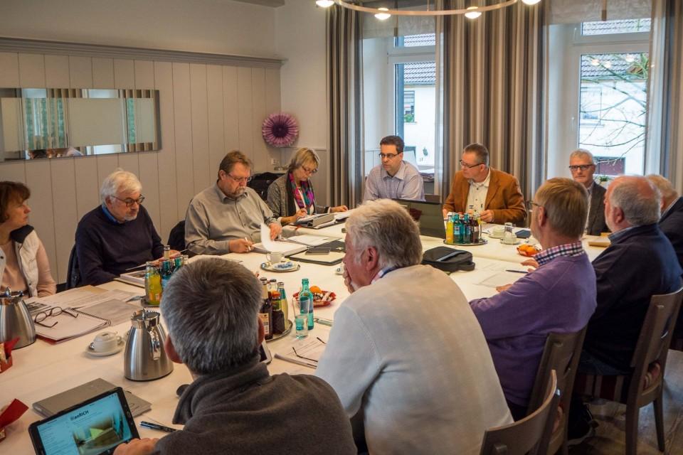 """Klausurtagung der SPD-Fraktion in Großendrehscheid – Abschluss in der """"Tenne"""" mit Kaminofen"""