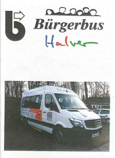 """SPD-Vortragsabend """"Arbeit des Bürgerbusvereins in Halver"""" – Intensives Gespräch im Nachgang; Fahrpläne"""